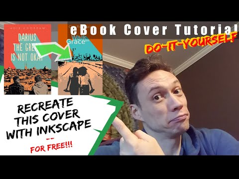 DIY Book Cover - How to create your own Free (or mostly free) eBook Cover with Inkscape thumbnail