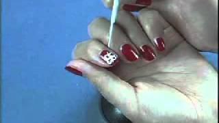 Роспись ногтей вместе с Kiss в домашних условиях