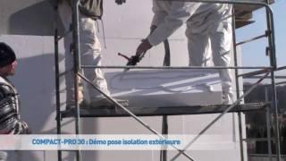 Démo ITE (Isolation Thermique par l'Extérieur) - Compact Pro 30