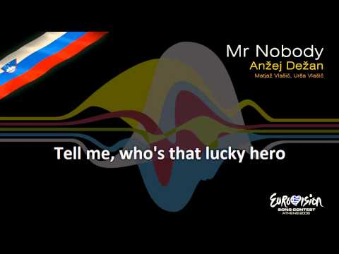 "Anžej Dežan - ""Mr Nobody"" (Slovenia) - [Karaoke version]"