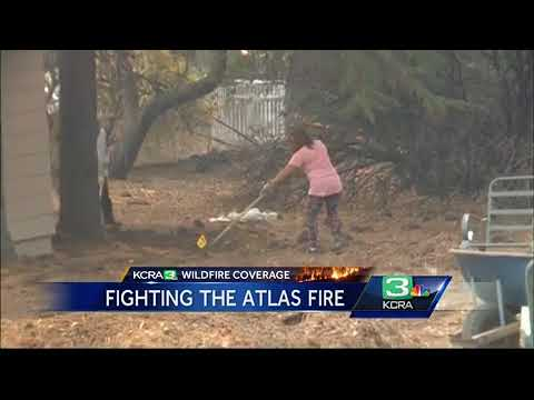 Fairfield keeps eye on growing wildfire, weather conditions