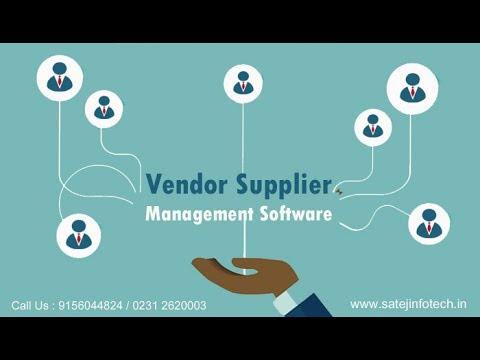 Vendor Supplier Management Software / Supply Chain Management Software