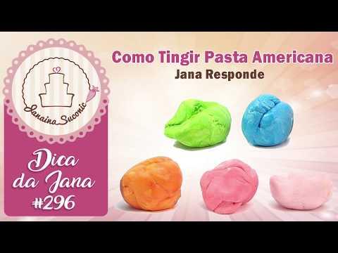 Dica da Jana #296 Como Colorir Pasta Americana - Por Janaina Suconic