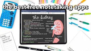 the BEST FREE notetaking apps 🌷 screenshot 4