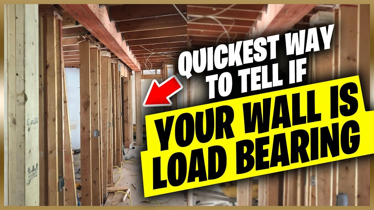 The Fastest Ways To Tell If Your Wall Is Load Bearing Or Not You