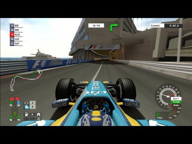 F1 2006 (Championship Edition) Gameplay: Monaco