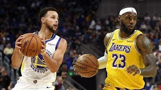 Golden State Warriors Vs L.A Lakers Live Stats And Live Score
