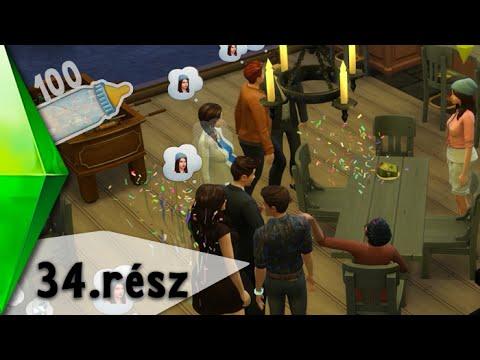 The Sims 4 - 100 Baba Kihívás - Óriás szülinap! - 34.rész