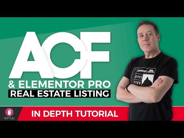 Advanced Custom Fields Pro & Elementor Pro - Real Estate Website