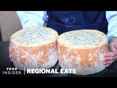 How Traditional English Stilton Cheese Is Made At A 100-Year-Old Dairy | Regional Eats
