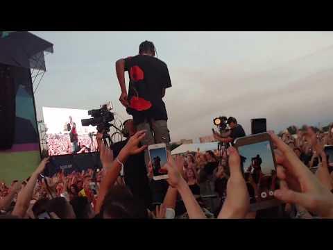 Travis Scott lit 🔥 🔥 at Kraków Live Festival 2017 | Goosebumps