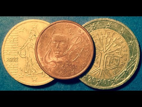 France Euro Coins: Mintages & Values