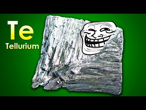 Tellurium - THE MOST INSIDIOUS ELEMENT ON EARTH!