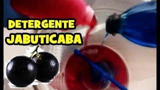 Como Fazer Detergente limpol de  Jabuticaba