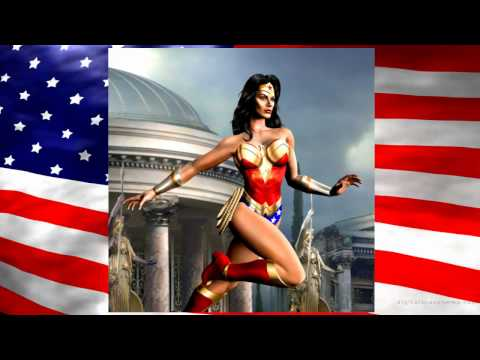 "Wonder Woman Tribute DC Comics 720P HD Britney Spears  ""Womanizer"""