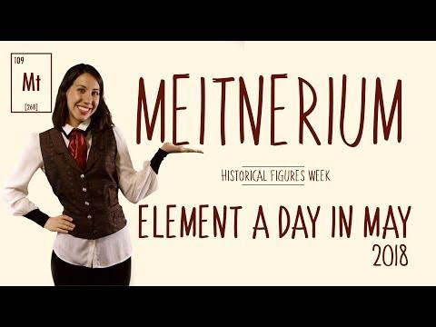 May 2nd - Meitnerium  - Historical Figures Week - #ElementADayInMay