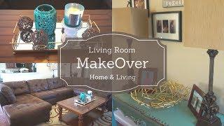 Living Room Makeover| Rearranging Furniture| Home & Living