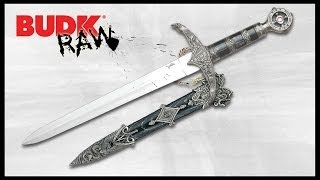 Medieval Robin Hood Dagger With Ornate Scabbard - $16.99
