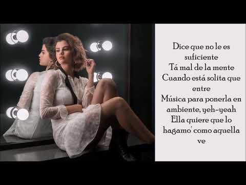I Can't Get Enough Ft. J Balvin - Selena Gomez - (Lyrics)