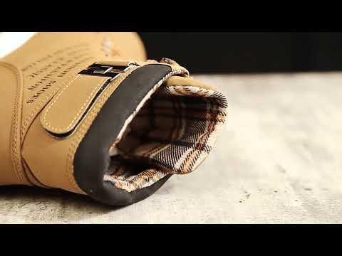 REVIEW Men Shoes Fashion Warm Fur Winter Men Boots Autumn Leather Footwear