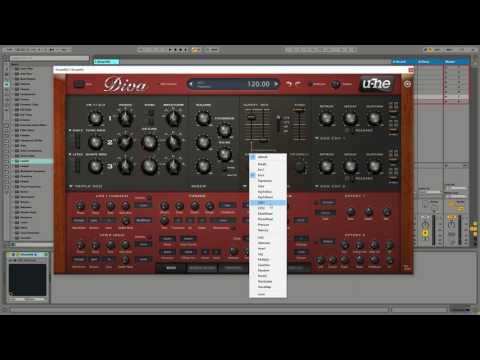 Ableton Live - Stephan Bodzin Bass / Pad - U-he Diva