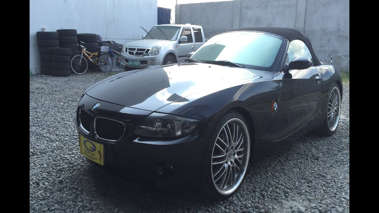 BMW Z4 Roadster >> 2004 BMW z4 Roadster FULL REVIEW (interior, exterior ...