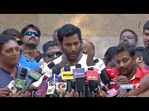 We will win producer council elections : Vishal | News7 Tamil