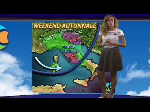 Neve, piogge e temporali in arrivo in italia per il weekend di metà settembre