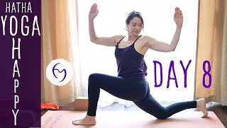Day 8 Hatha Yoga Happiness: Clean out the Fridge with Fightmaster Yoga