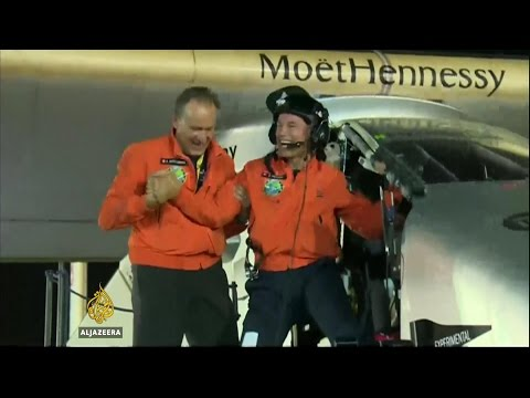 Solar Impulse completes historic global journey
