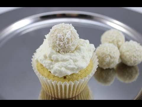 Kokos- Cupcakes mit Raffaello