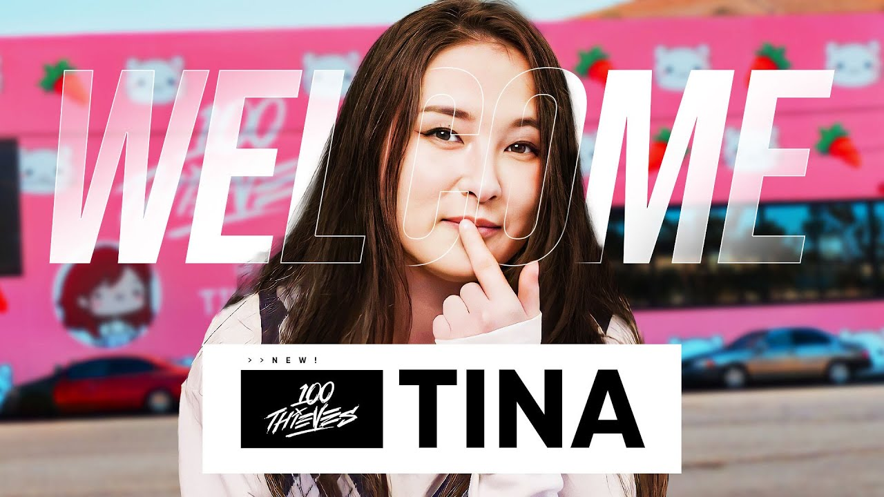 Download How TinaKitten Signed Herself to 100 Thieves!