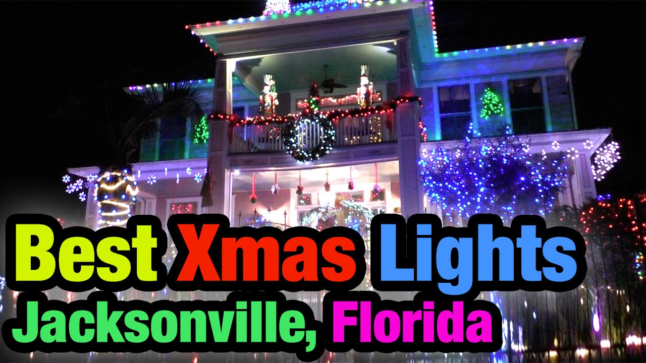 Best Christmas Light Displays Jacksonville Florida 2017 15 Extreme Decorated Houses