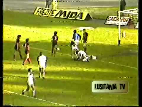 Braga vs Penafiel 1984-1985