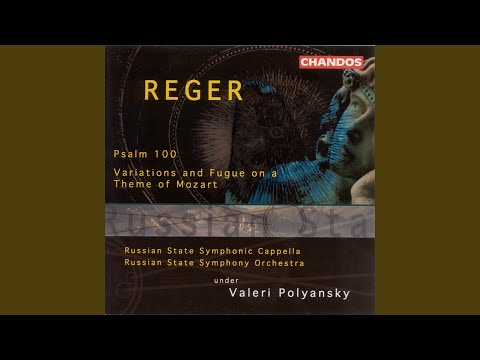 Psalm in C Minor, Op. 106 (reconstructed by P. Hindemith) : Jauchzet dem Herrn alle Welt! … —