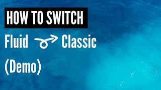 Peoplesoft Fluid to Classic Menu