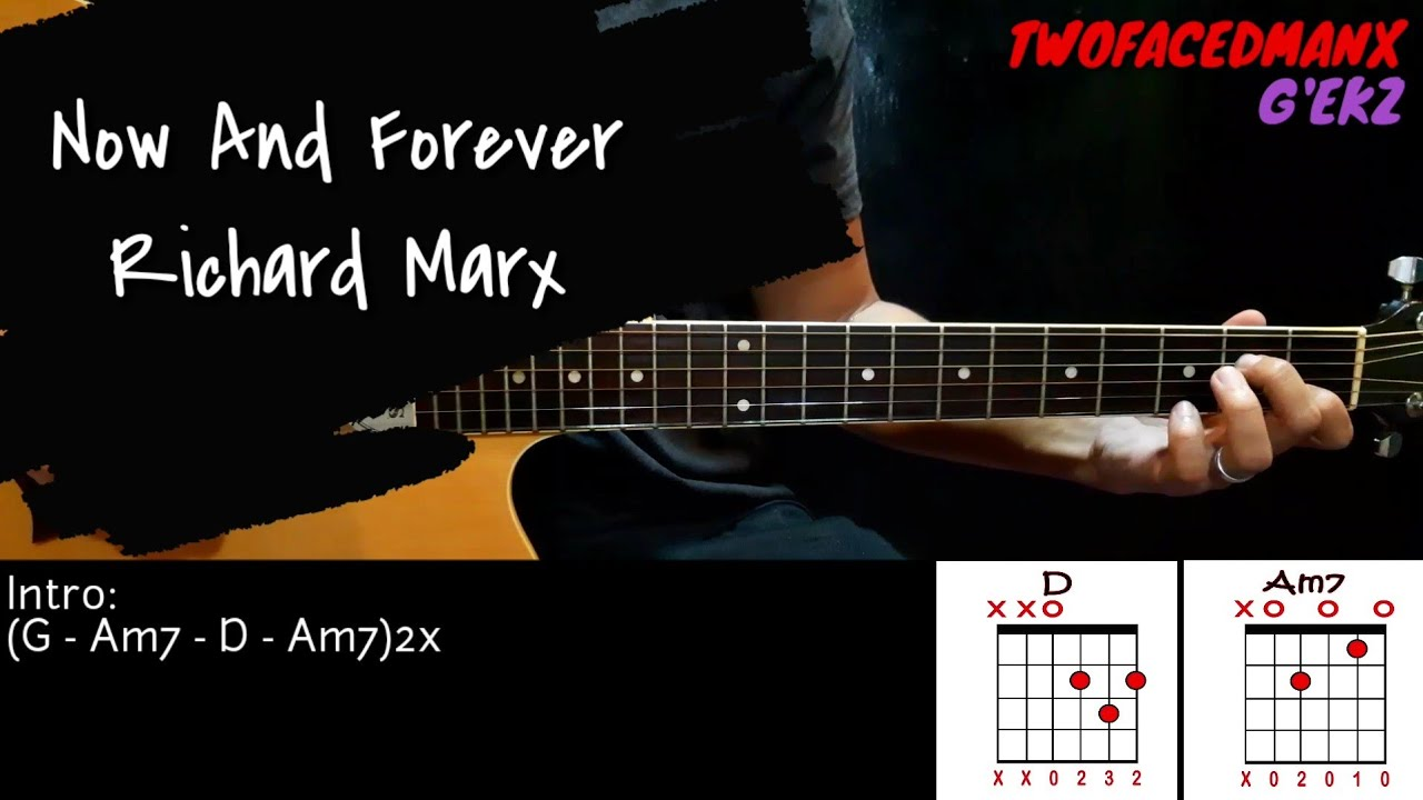 Now And Forever - Richard Marx (Guitar Cover With Lyrics & Chords) Chords - Chordify