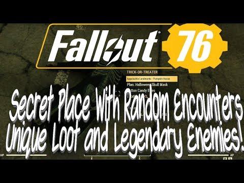 Fallout 76 Secret Place With Random Encounters, Unique Loot and Legendary  Enemies