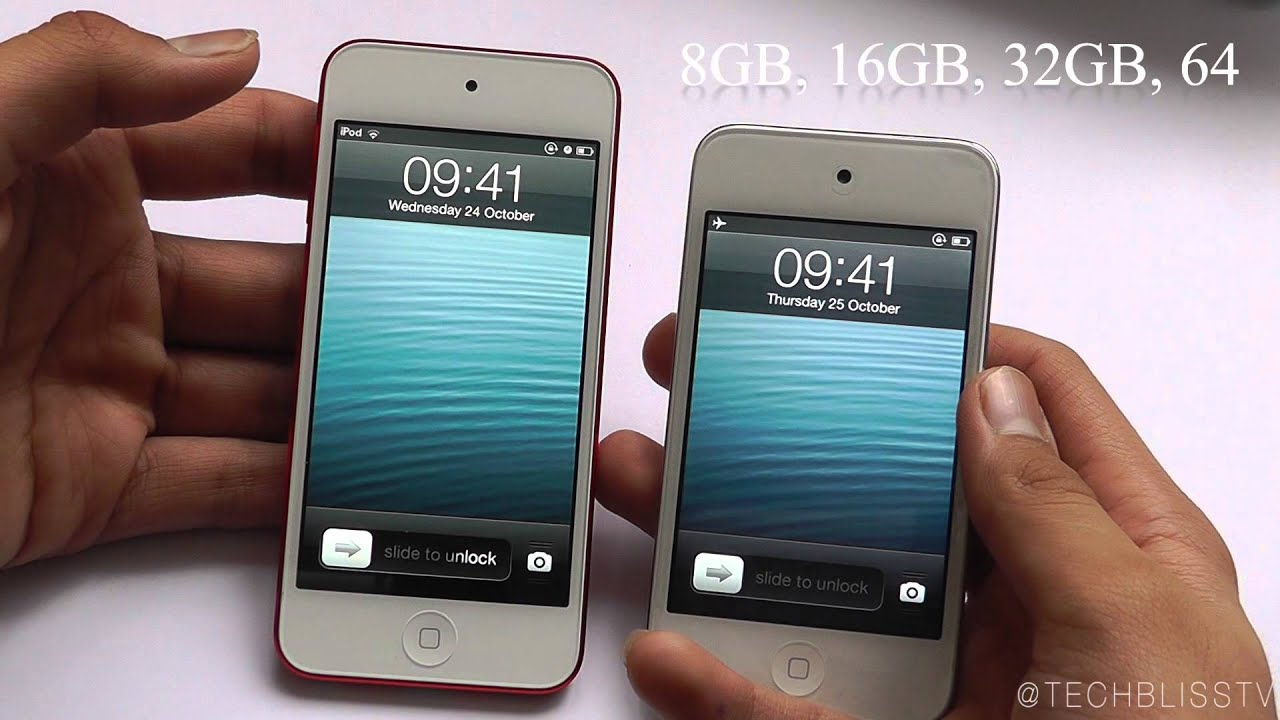 iPod Touch 5th Generation Review and Comparison with 4th ...