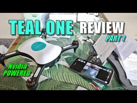 TEAL ONE Review - Nvidia Powered Smart Drone - Part 1 [Unboxing, Inspection, Setup, Pros & Cons]