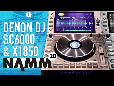 Denon NAMM 2020 | New DJ Controllers | Thomann
