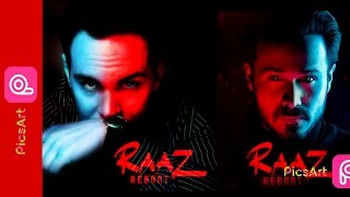 picsart editing Raaz reboot color effect picsart step by step | movie poster design |manipulation|