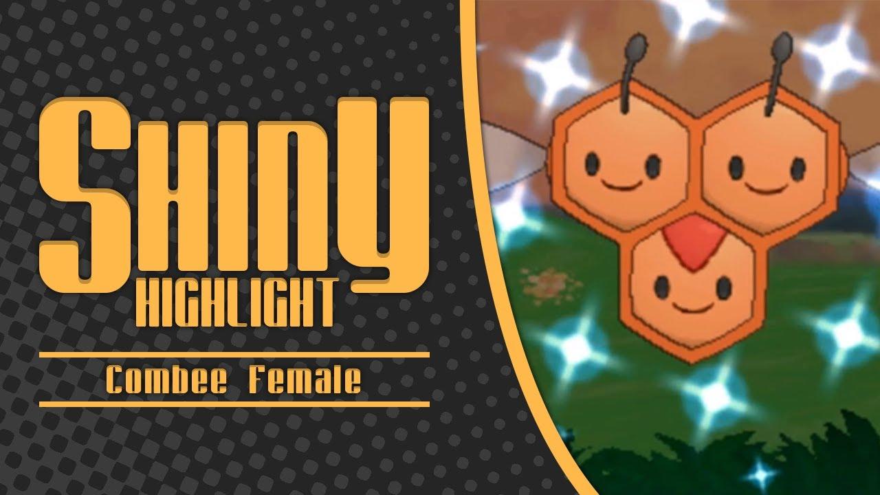 Pokemon X/Y Shiny Female Combee Live Reaction