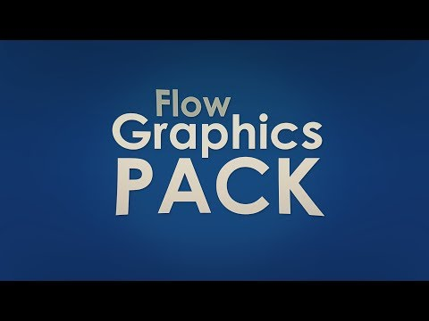Flow Graphics Pack! Free Download (Photoshop + Cinema 4D)