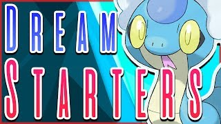 Top 5 DREAM Starter Pokémon for Generation 8!