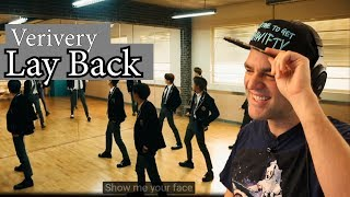 Guitarist React to VERIVERY - 'Lay Back'  M/V Reaction