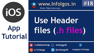 Use of Header Files in Objective C - Tutorial 16