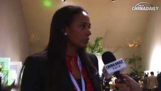 Isabel dos Santos talks about Angolan economy
