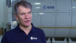 Paolo Nespoli training at EAC