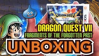 Dragon Quest VII Fragments of the Forgotten Past (3DS) Unboxing !!